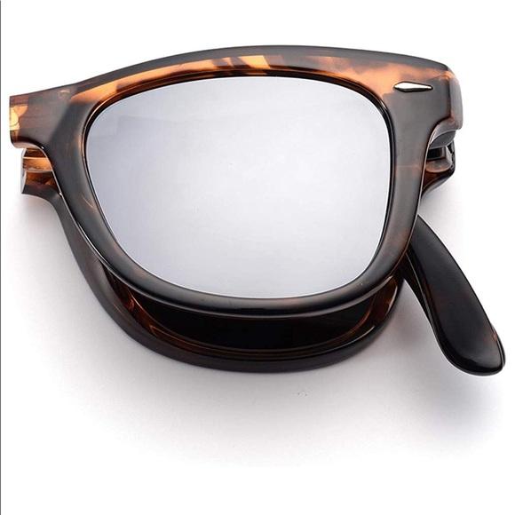414738bfeb4 Panda Accessories | Foldable Polarized Wayfarer Tortoise Sunglasses ...